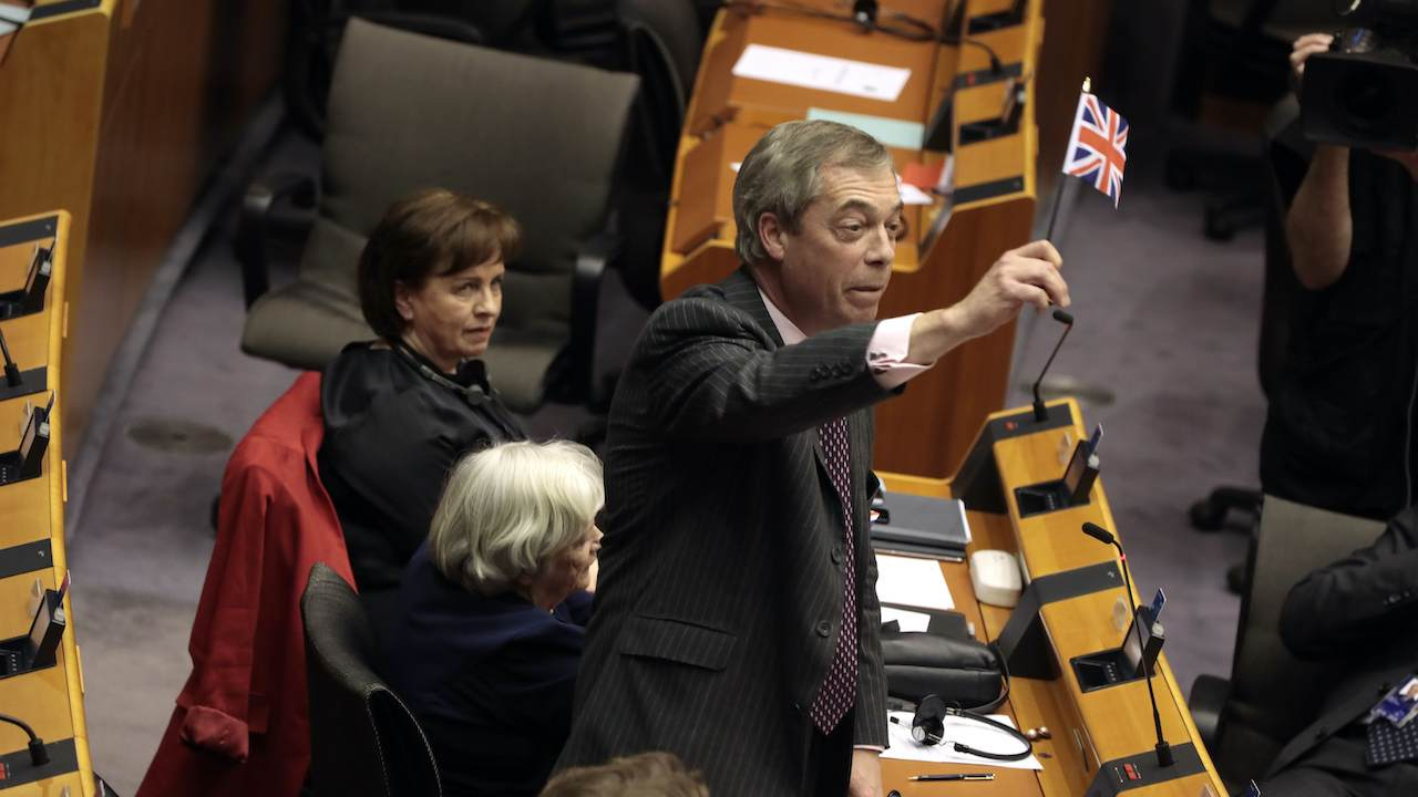 The Final Exchange Between a Triumphant Nigel Farage and Bitter EU Is Absolutely Priceless