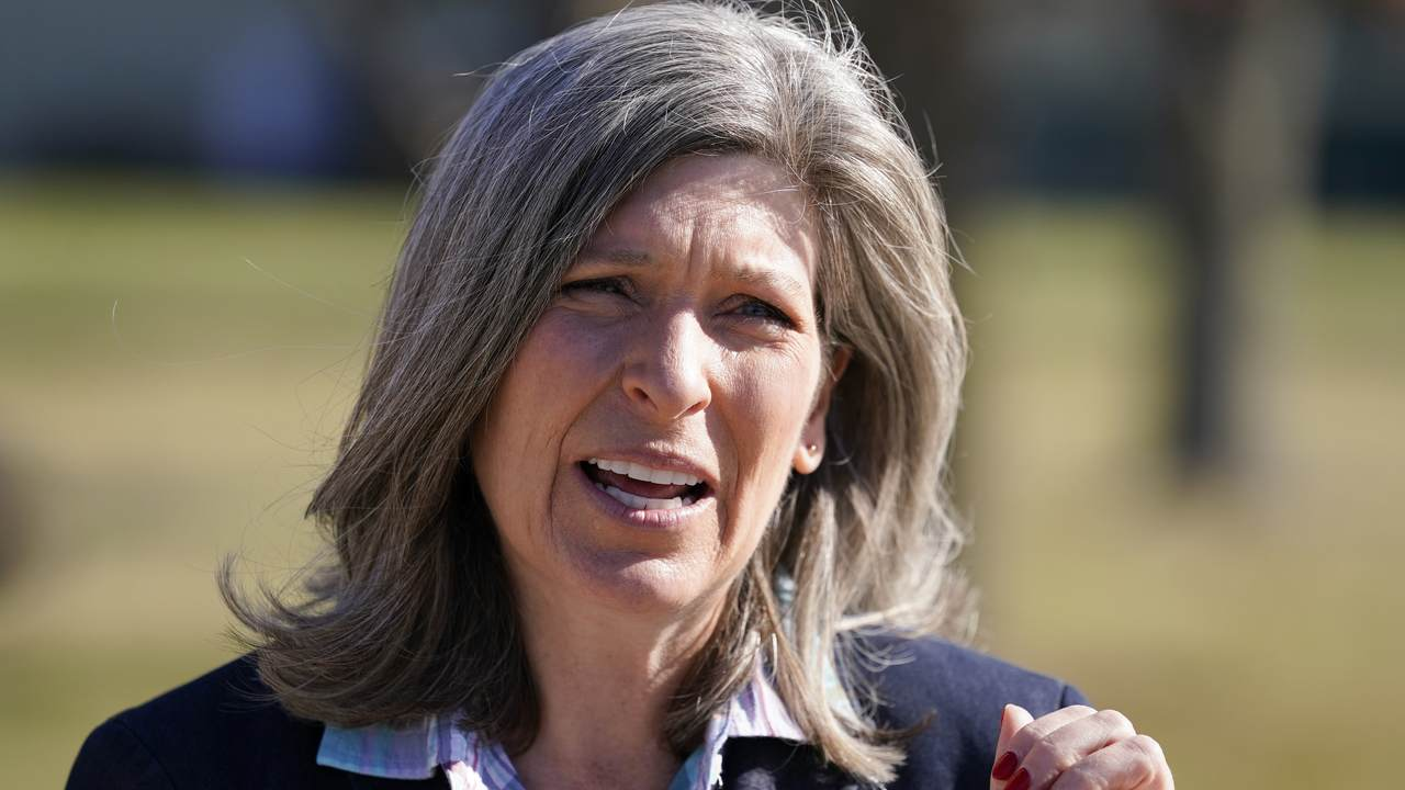 Sen. Ernst, a Veteran Herself, Reacts to Raphael Warnock's Remark on God and the Military