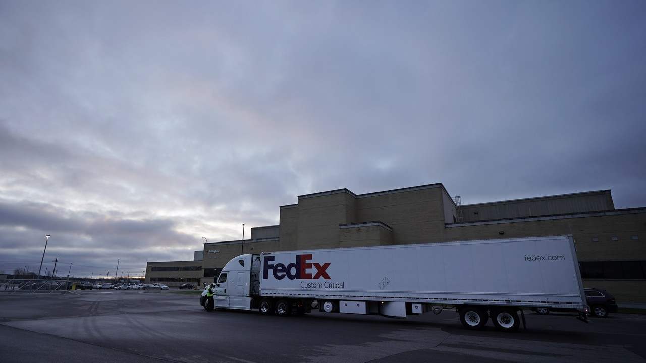 Operation Warp Speed: Trucks Packed with COVID Vaccine Roll Out to Start Crushing COVID