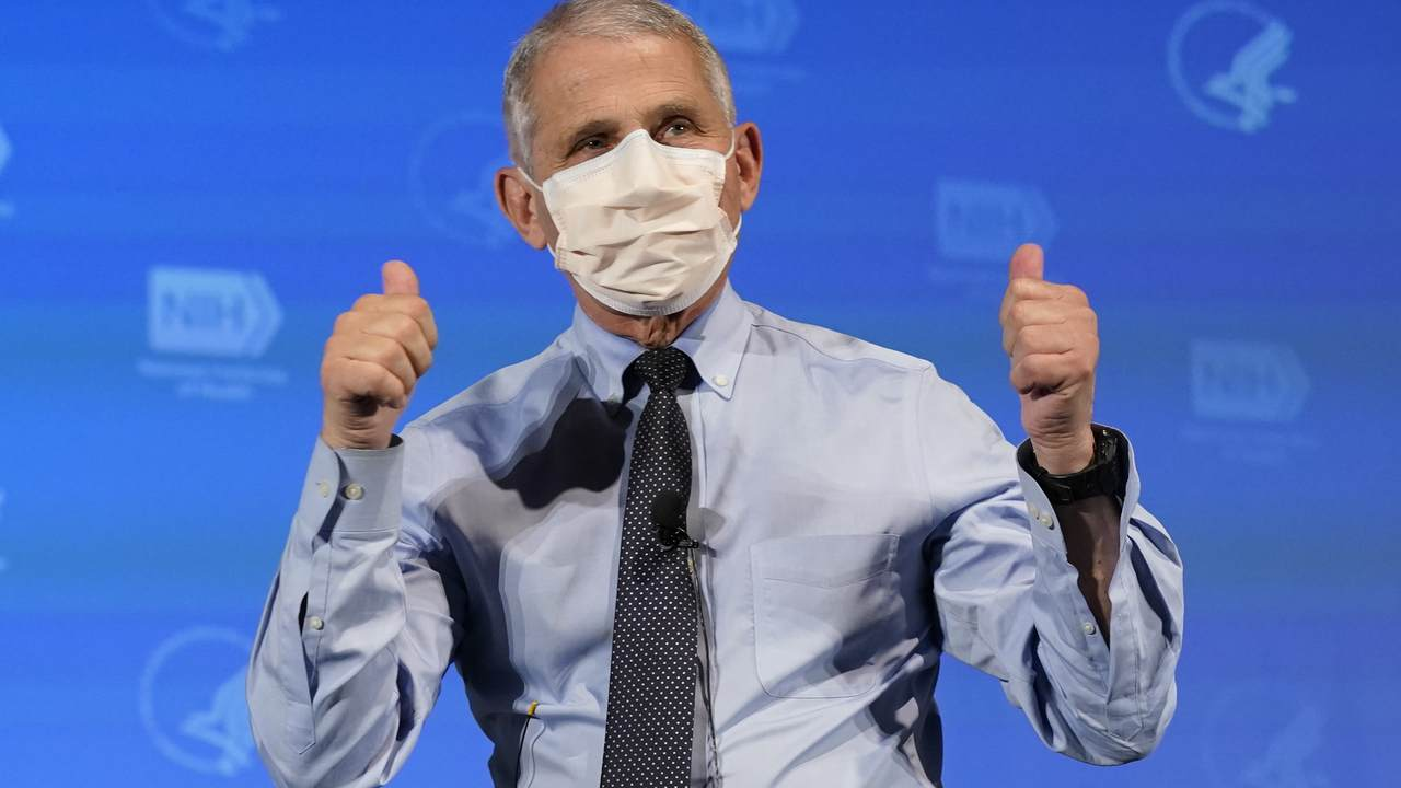 Dr. Fauci: Despite COVID Vaccines, 'We're Going to Be Wearing Masks for Several, Several Months'