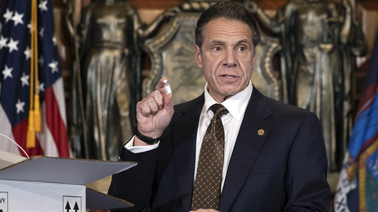 Cuomo's Latest About-face on the COVID Vaccines