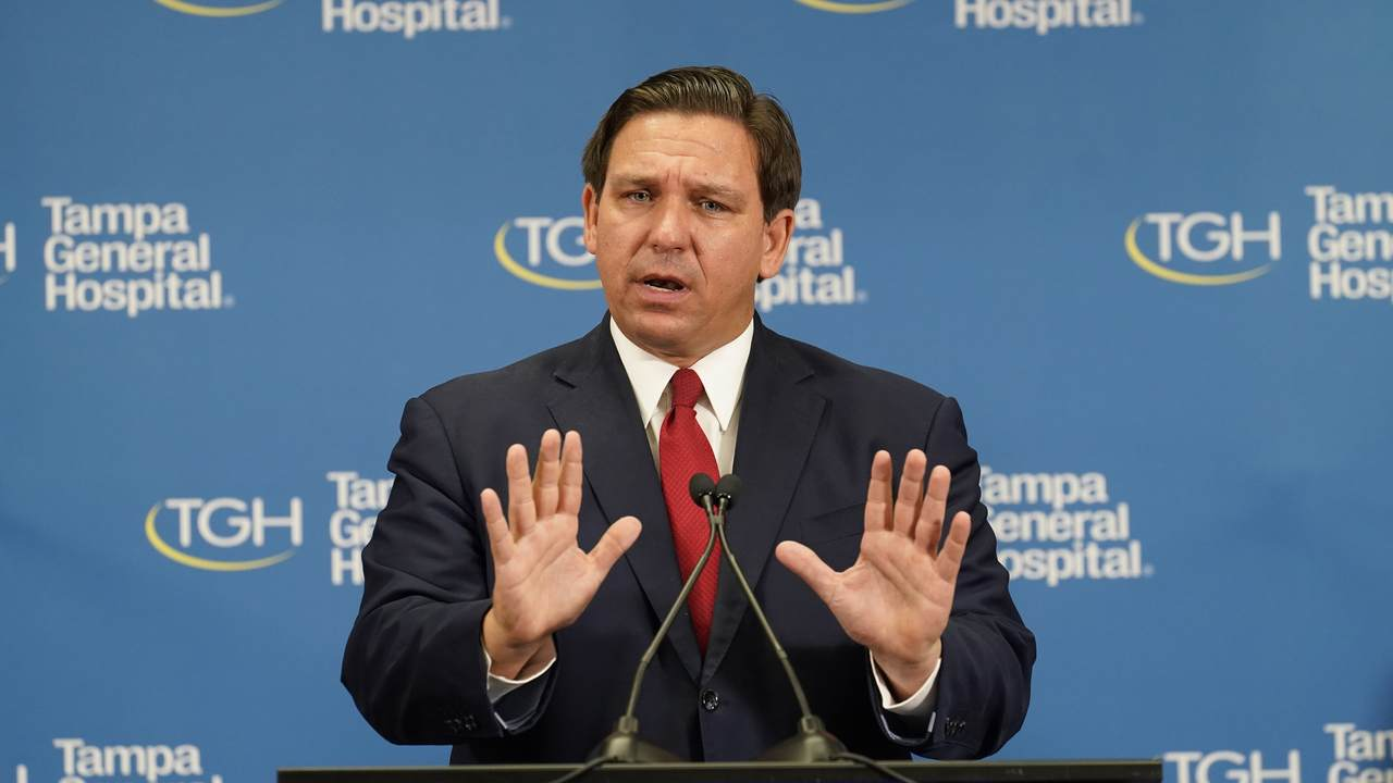 DeSantis Hits Back at White House Press Secretary's 'Totally Disingenuous' Vaccine Comment