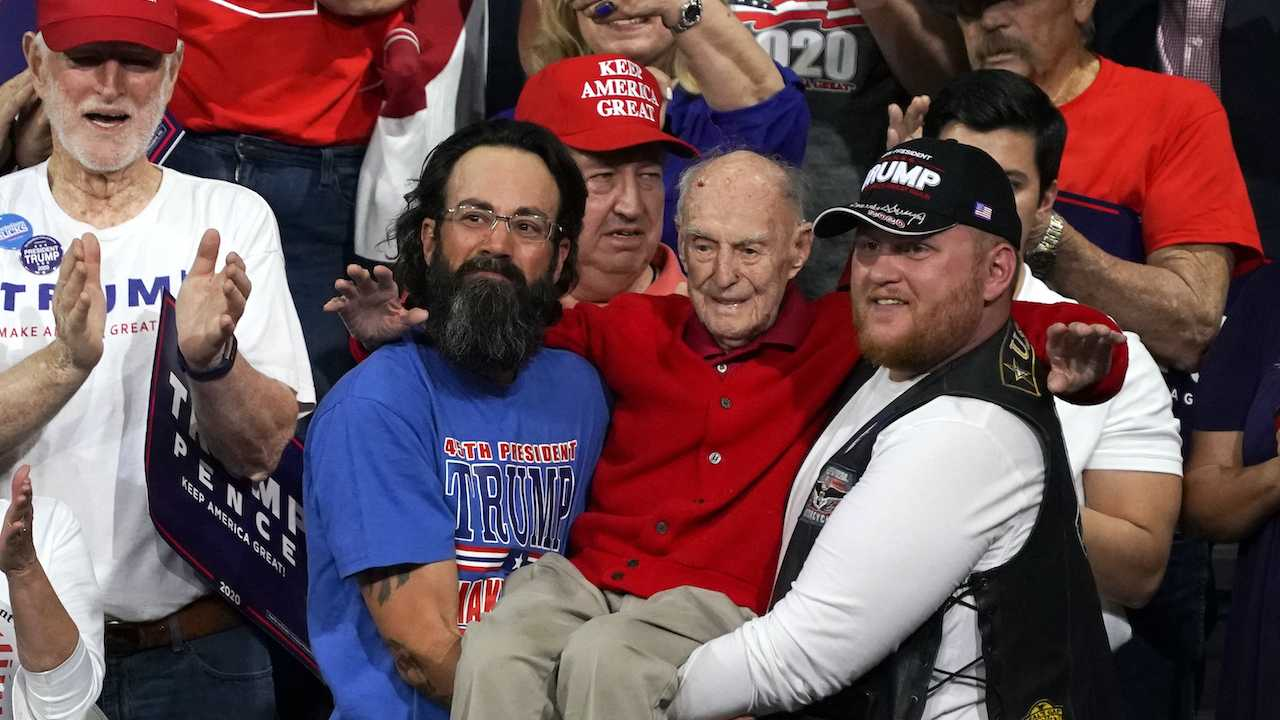 Trump Honors 100-Year-Old WWII Vet After Touching Moment from Rally Goes Viral
