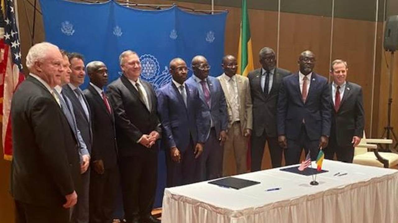 Photo Journal: Secretary of State Mike Pompeo Visits Senegal