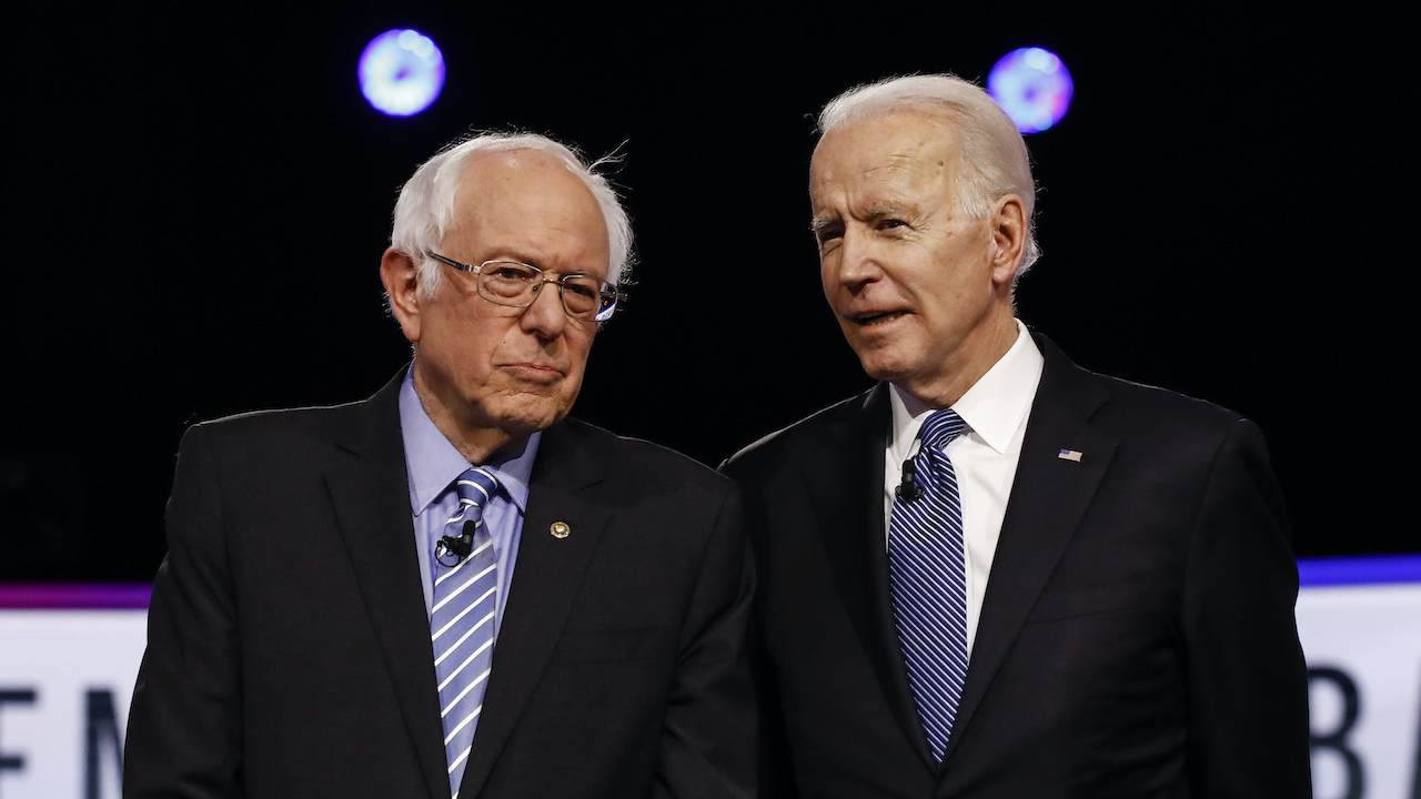 Sanders Goes on the Offense Against Biden in Florida