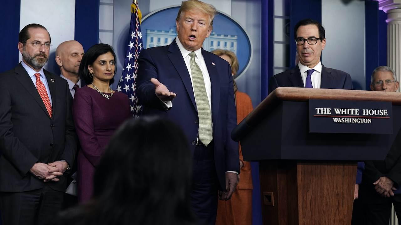 Trump Approval of Coronavirus Handling Soars in New Poll