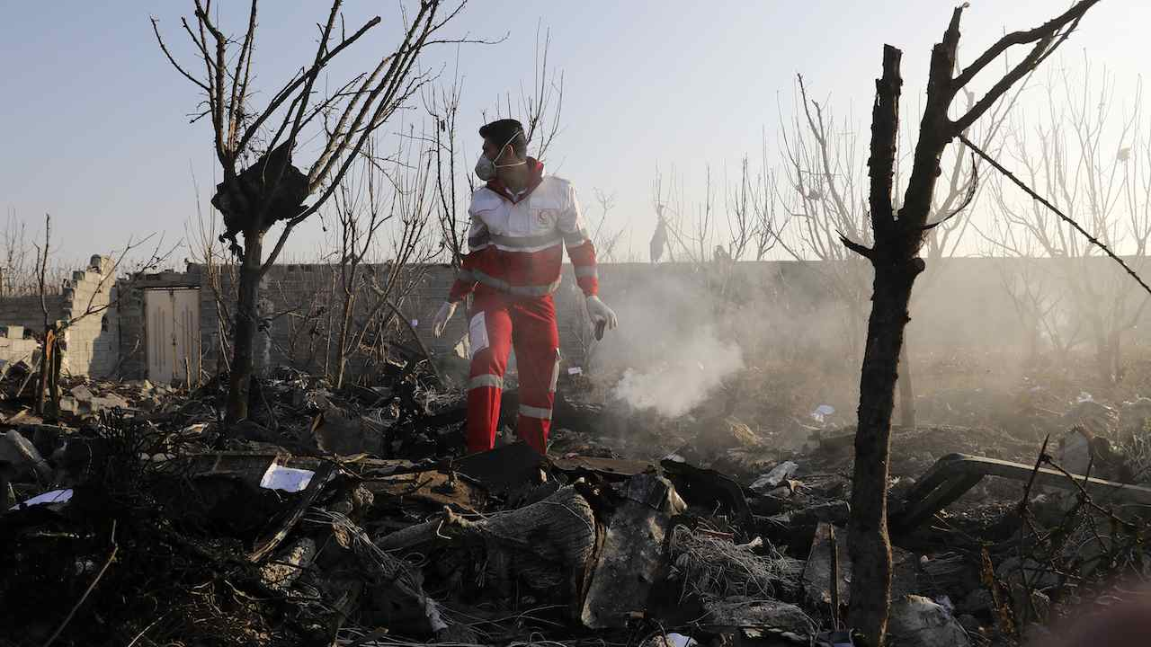 Iranian Reporters Quit State TV After Government's Response to Plane Crash