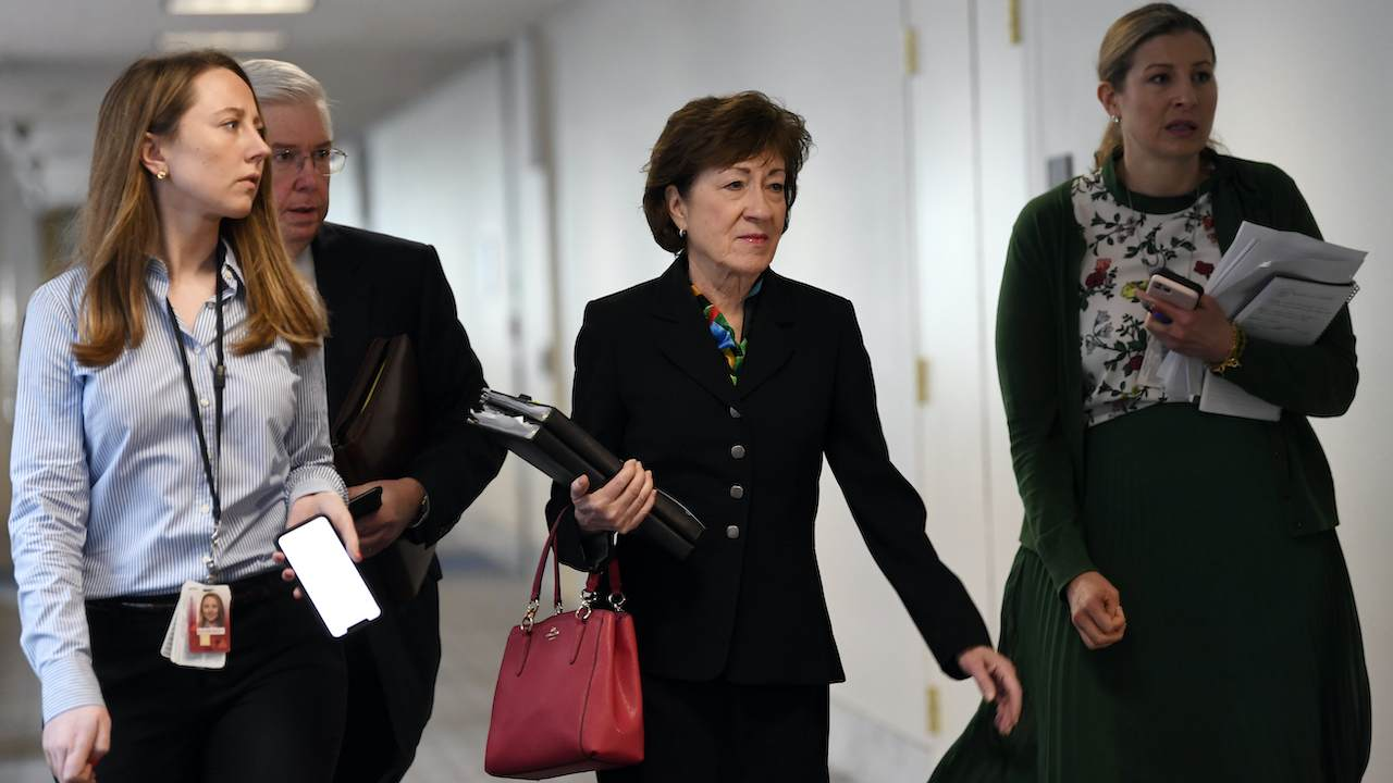 'We Don't Have Time:' Sen. Collins Destroys Schumer's Relief Package Delay