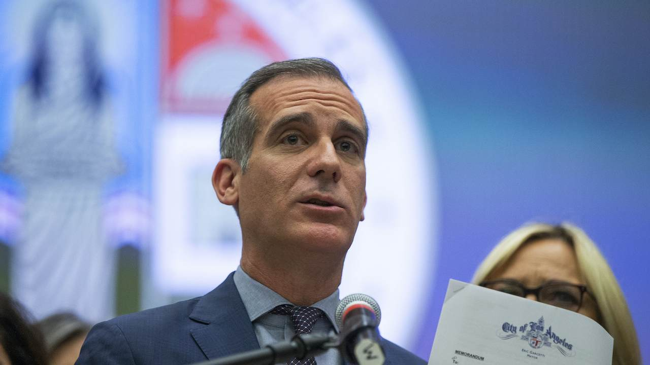 L.A. Mayor Garcetti Says 'Snitches Get Rewards' for Ratting Out Their Neighbors