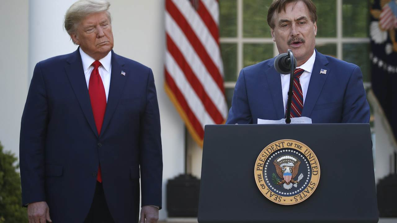 Why Mike Lindell Is 'Happy' Dominion Is Suing Him
