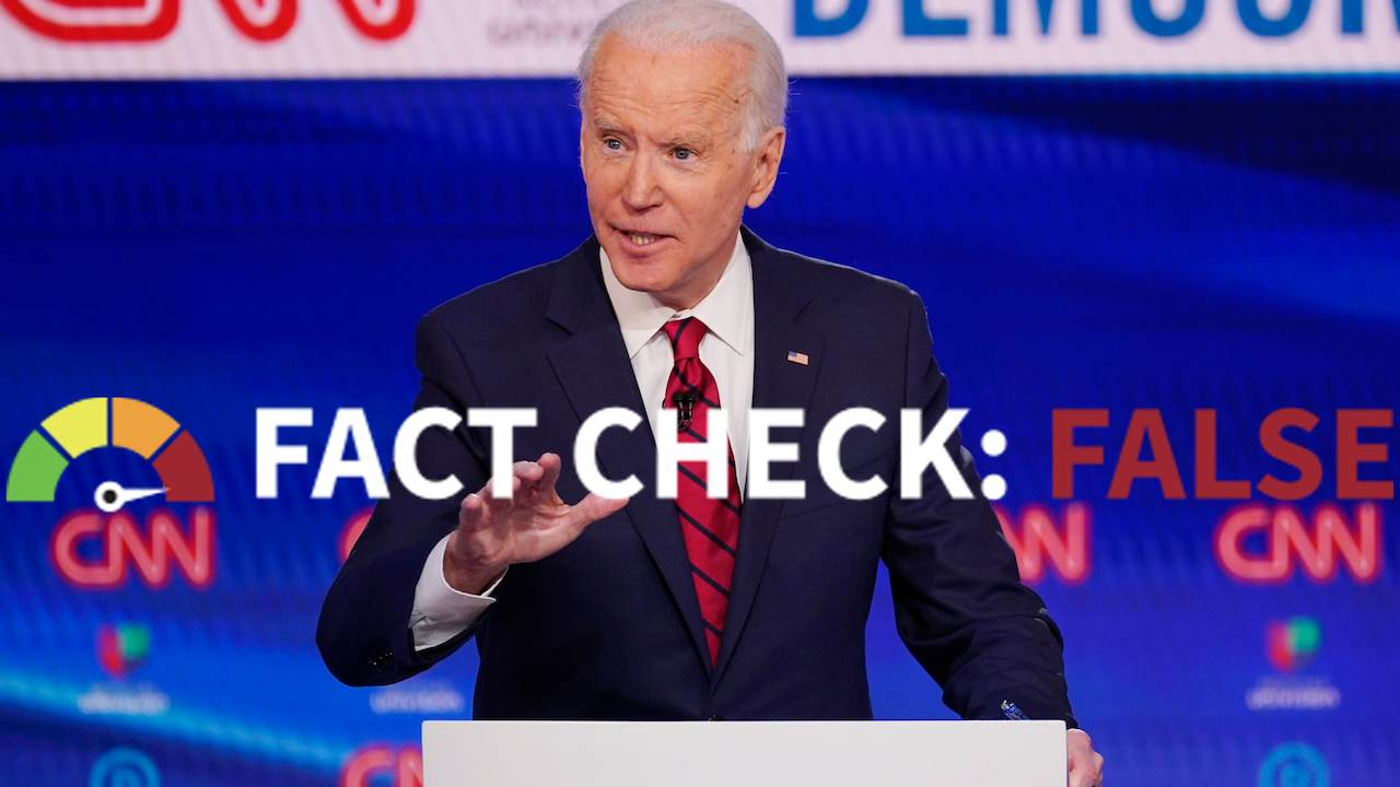 Fact Check the Left: Biden's Claims on Trump and China