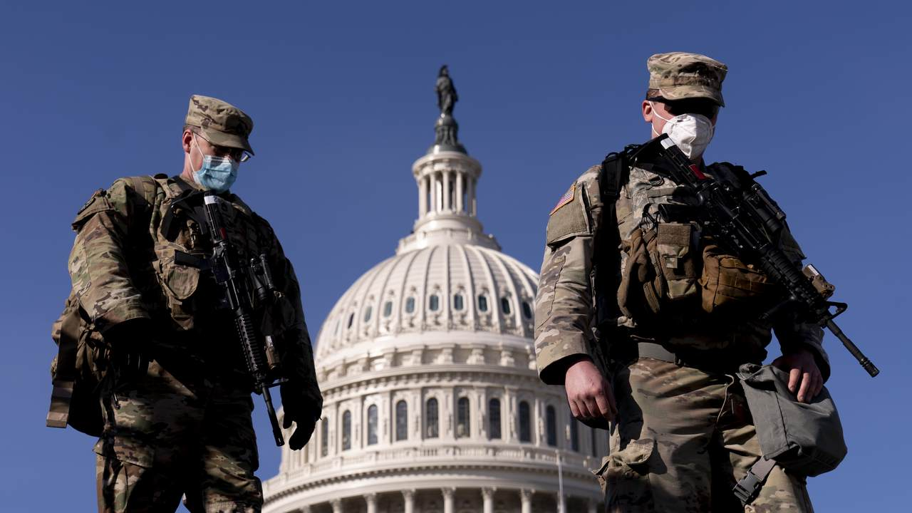 'Unredacted with Kurt Schlichter': National Guard on Capitol Hill Is One Big Photo Op