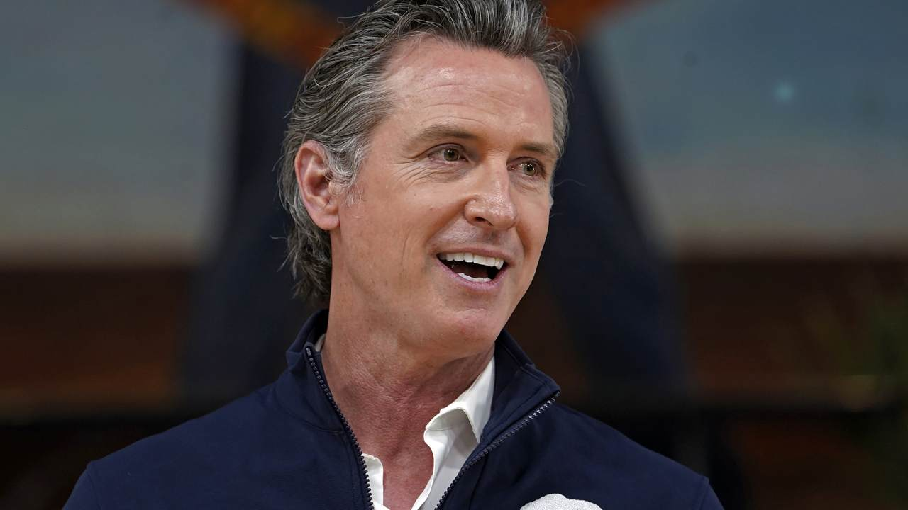 Why Gavin Newsom's Recent Presser Was the Seat of Irony