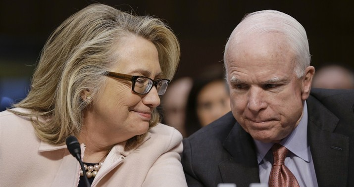 McCain Offers Psychotherapy to Hillary