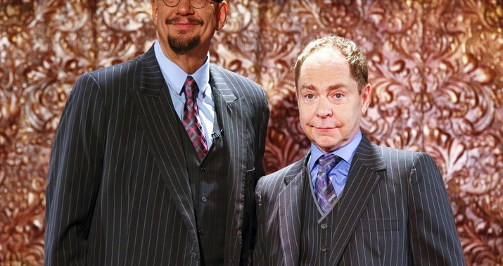 Penn Jillette: 'Apprentice' Tapes Exist of Donald Trump Making Racist Remarks