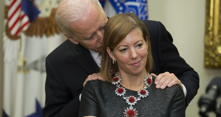 Joe Biden Accused of Unwanted Kiss While Vice President