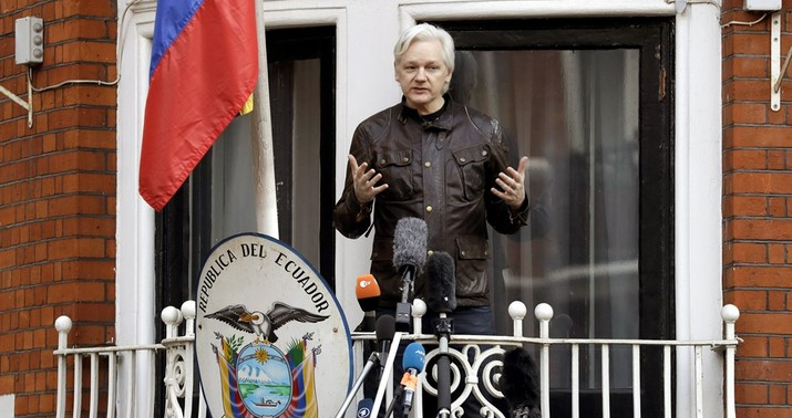 Ecuador spied on WikiLeaks founder Julian Assange at London embassy