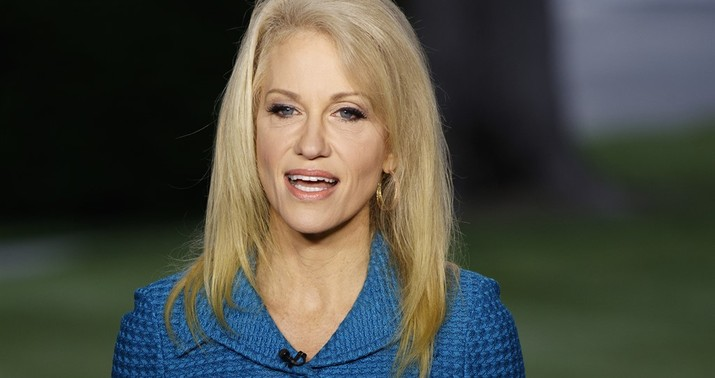 Kellyanne Conway Tried To Blast Husband's Trump Tweets - Anonymously class=
