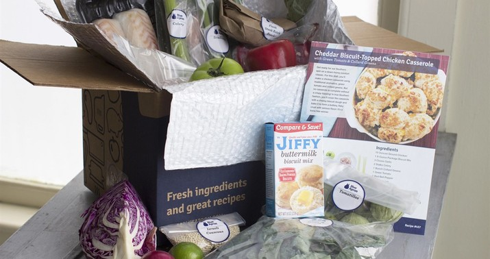 Image result for townhall, blue apron box