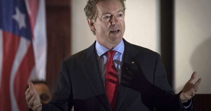 Rand Paul tackled by neighbor over