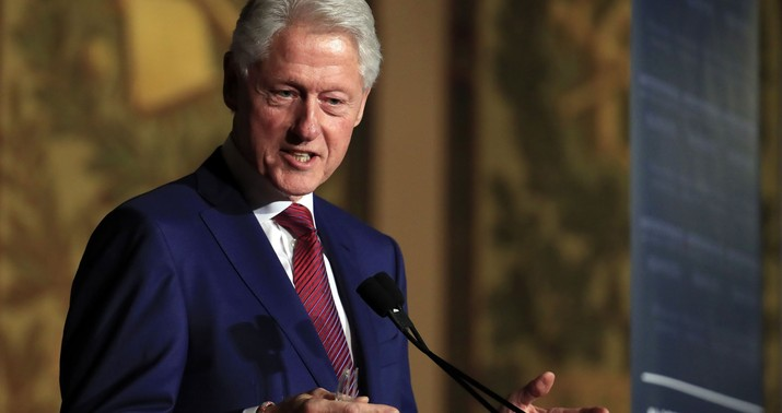 Liberals' Sudden Concern About Bill Clinton's Behavior Is Cynical