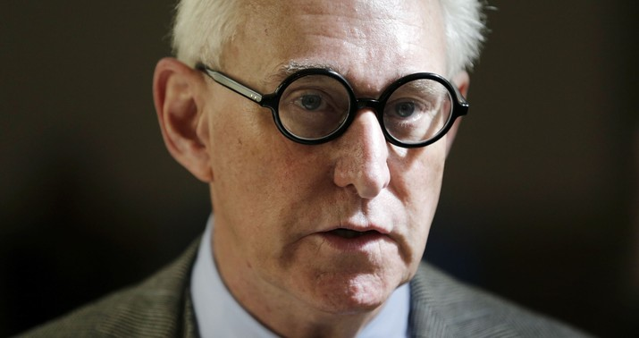 Roger Stone indicted on charges brought by Robert Mueller