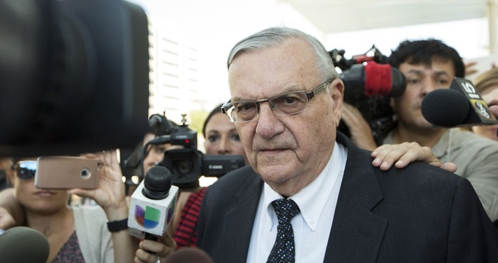 Joe Arpaio's Senate bid