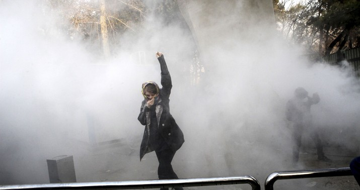 Protester kills policeman as Iran bloodshed worsens