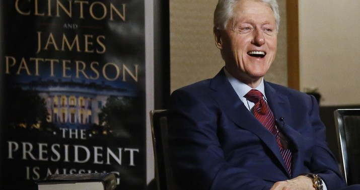 Bill Clinton Angrily Defends Himself as He's Questioned About Monica Lewinsky Scandal