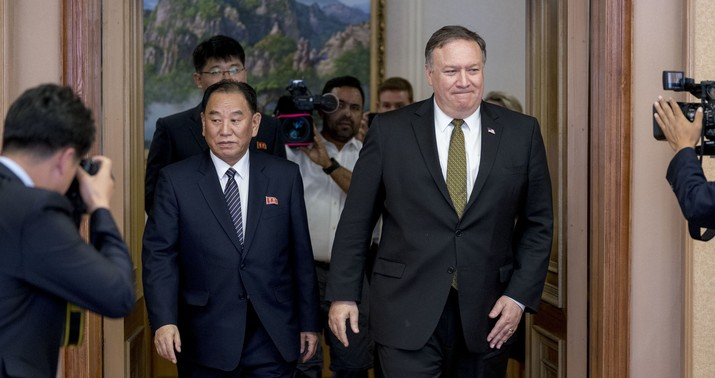 N Korea says talks with Pompeo were 'regrettable'