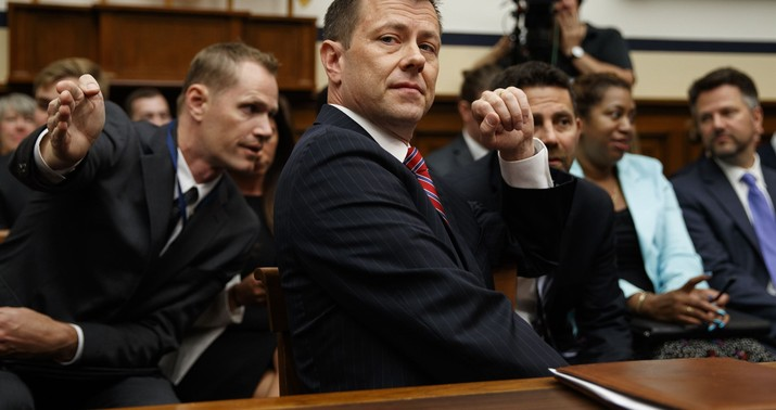 Peter Strzok firing reaction from praise to ire