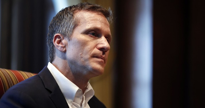 Missouri Gov on indictment charges: Prosecutor is