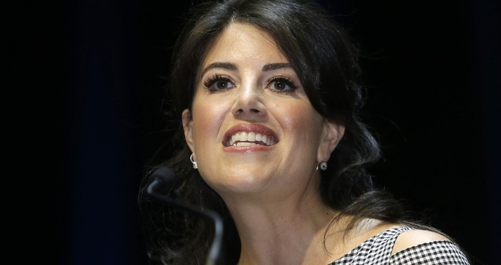 Monica Lewinsky says she would apologize to Hillary Clinton again