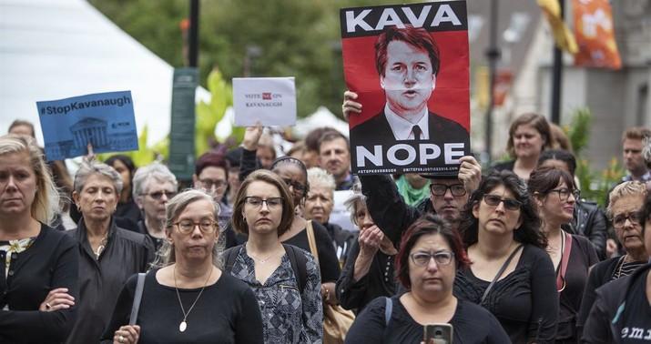 New accuser claims Kavanaugh present at 'gang' rape