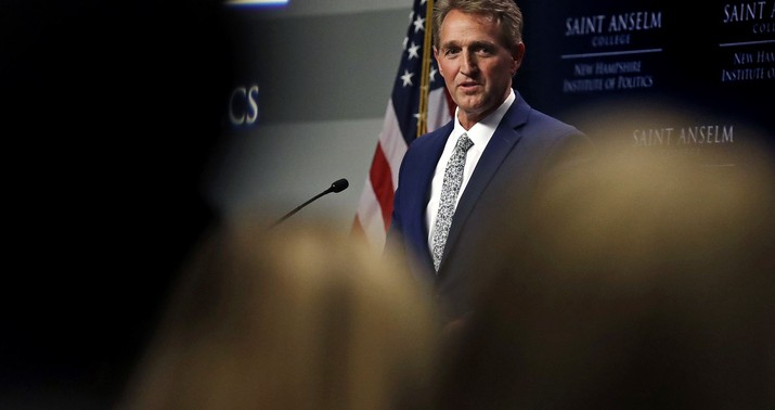 Flake: I'll Block Judges Until Mueller Protection Vote