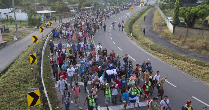 Pres. Trump Tells Migrant Caravan To Turn Around And Go Home
