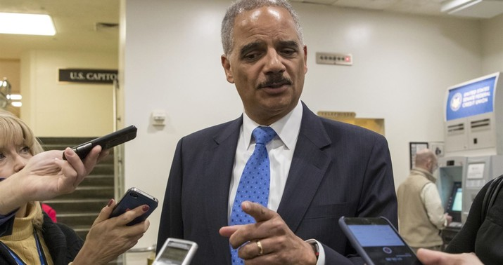 Eric Holder says he's considering a run for the White House