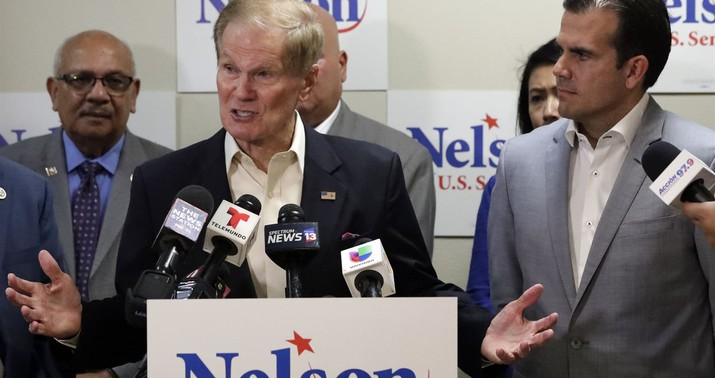 Florida recount puts Trump Senate wins on a knife-edge