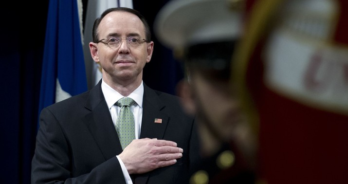 Secret recording reveals why Rosenstein hasn't been impeached – and when he will be