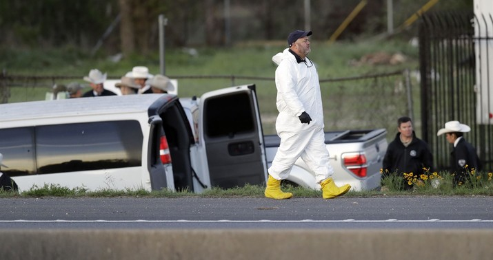 Texas bombing suspect dead after officer-involved shooting on an interstate