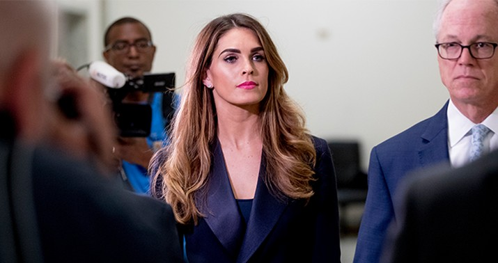 Hope Hicks Interview Transcript Released: Read It Here