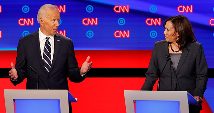 """Top four US Democrat candidates head to first face-off in debate"""""""