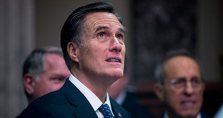 Mitt Romney blows out his birthday candles differently than you do