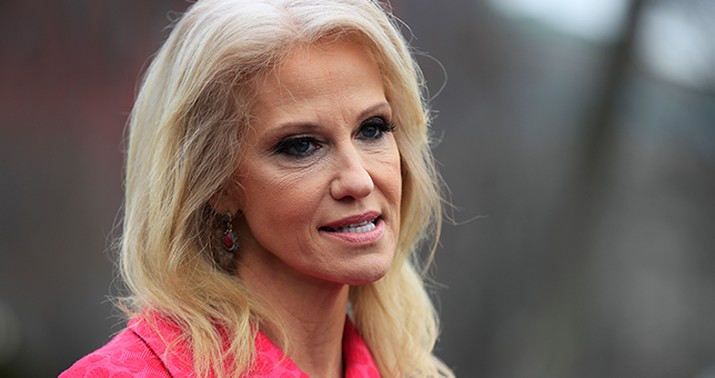 Trump heats up feud with top aide Kellyanne Conway's husband